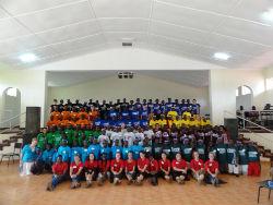 Participants of camp BUILD (Boys of Uganda In Leadership Development) 2011.