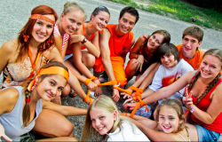 Participants of the 2011 Action Brings Change (ABC) camp in Ukraine.