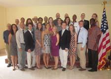 Twenty five new Peace Corps Cape Verde volunteers.
