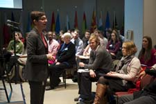 Peace Corps career conference at the Paul D. Coverdell Peace Corps Headquarters.