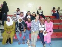 Jordan Volunteer with team