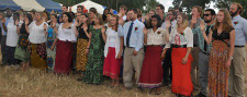 New volunteers in Malawi take their oath of service