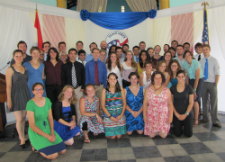 New Peace Corps volunteers in Paraguay