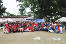More than 200 Filipino students participated in a baseball camp organized by the Peace Corps volunteers.