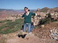 Volunteer So-Youn Kim in Morocco