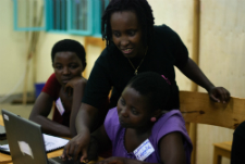 Camp TechKobwa participants.