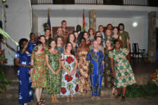 Twenty-one new Peace Corps/Togo volunteers.