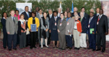 Peace Corps, WFP, and FAO renew partnership at the 37th Committee on World Food Security in Rome, Italy.