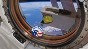 peace corps patch in space