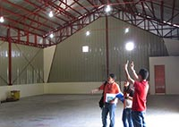 A visit to a DSWD warehouse under construction in