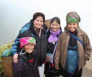 Maura with her Peace Corps Host Family