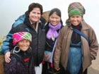 Maura Reap with her Peace Corps Host Family.