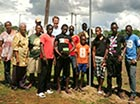 PCRV Tom Sunchuk with Counterparts and boarding house boys, developing a Life Skills Curriculum at Stichting Engedi.