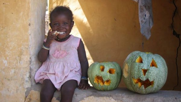 A lesson on pumpkins, wastefulness and abundance from The Gambia