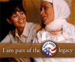 I am part of the Peace Corps legacy. Learn more about the Peace Corps