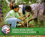 Think local. Act global. Learn more about the Peace Corps