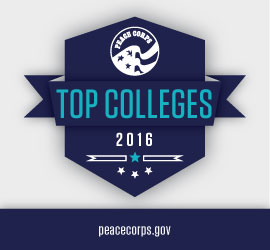Peace Corps Announces its 2016 Top Volunteer-Producing Colleges and Universities