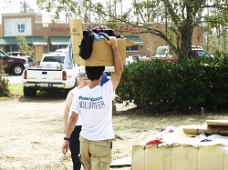 Just ten days after Katrina ravaged the Gulf Coast, Peace Corps mobilized the first group of reponders to Baton Rouge during the only domestic placement of volunteers in the agency's 54-year history