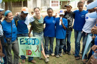 Escoja Mi Vida march in Dominican Republic